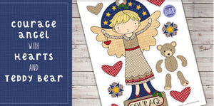 DIY Digital Download - Courage Angel
