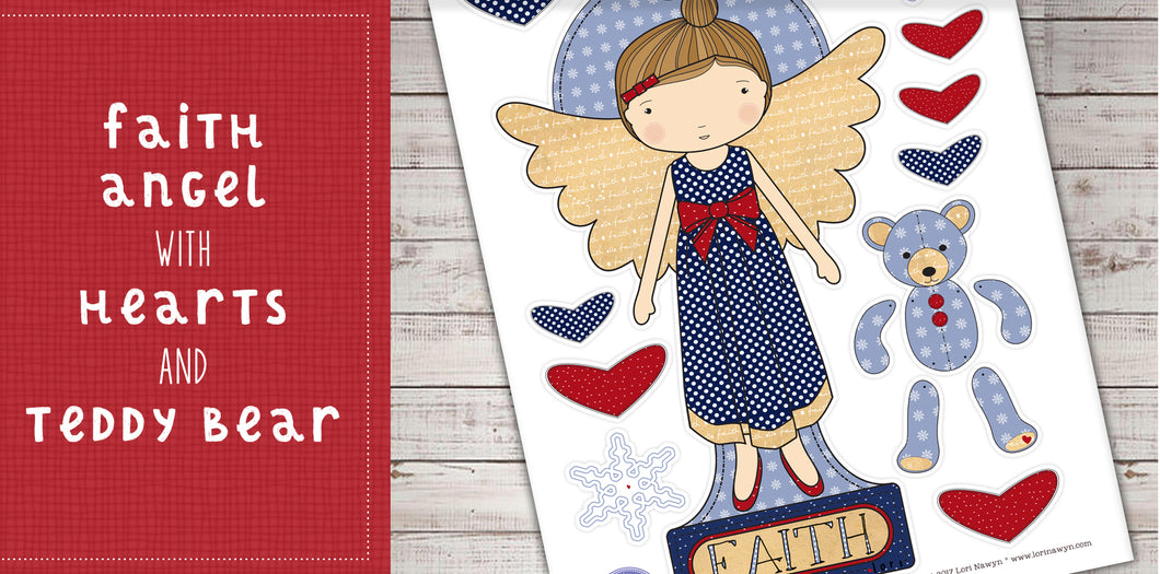 DIY Digital Download - Faith Angel
