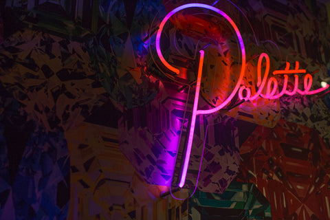 Ashley Longshore neon art