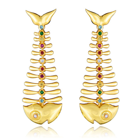 Artisans of IQ founder Ileana Quinones' new jewelry line - earrings