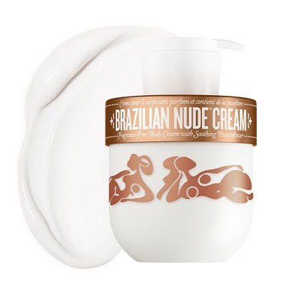 Brazilian Nude Cream - unscented sensitive skin moisturizer
