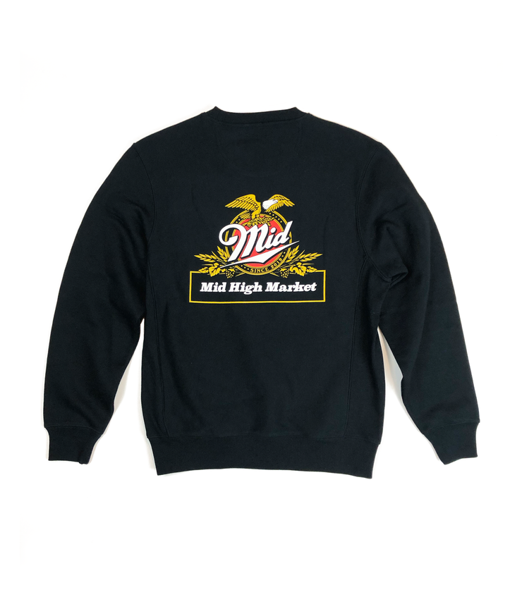 Mid High Genuine Draft Crewneck