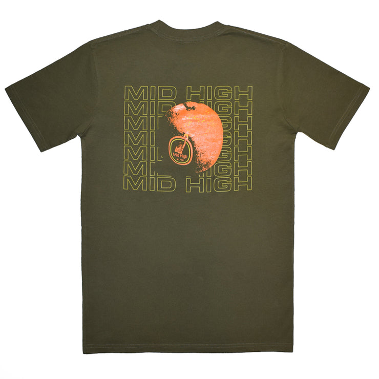 Threshed Orange T-Shirt