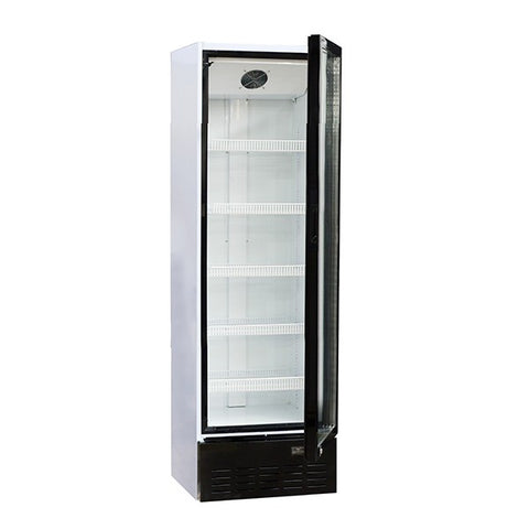 Blizzard BC350 Single Door Upright Glass Door Refrigerator
