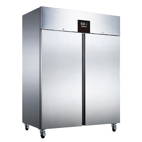 Blizzard BR2SS Solid Double Door 1300LTR Upright Refrigerator