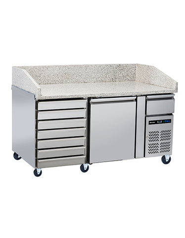 Blizzard BPB1500-7N Refrigerated Pizza Counter