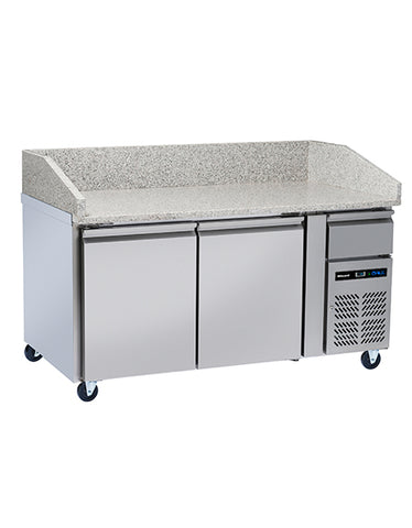 Blizzard BPB1500 2 Door Refrigerated Pizza Counter