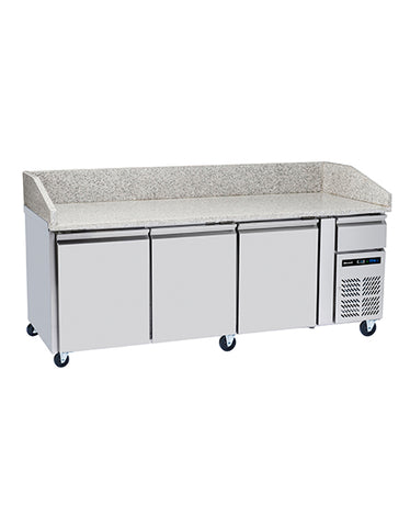 Blizzard BPB2000 3 Door Refrigerated Pizza Counter