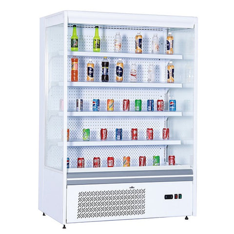 Blizzard BTD150WH Slim White Tiered Multideck