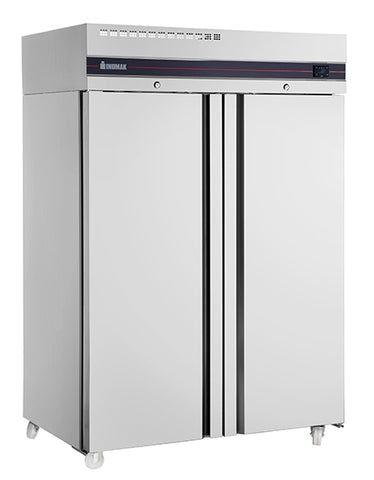 Inomak CFP2144 Solid Double Door Upright Freezer