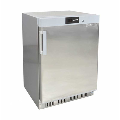 Capital ROYAL-200HS Under Counter Stainless Steel Refrigerator