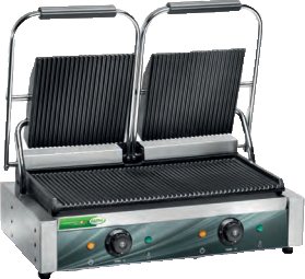 Fama FPCG 50R Double Medium Duty 475 x 230mm Base Contact Grill