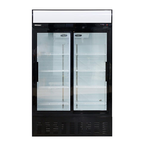 Blizzard GD630SL Upright Double Sliding Door Refrigerator