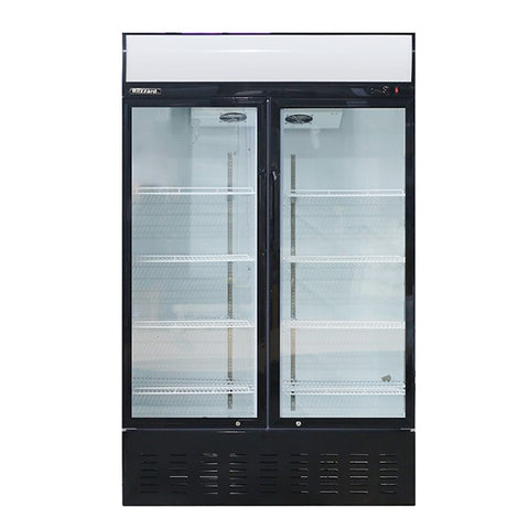 Blizzard GD630 Upright Hinged double Door Refrigerator