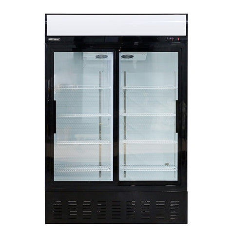 Blizzard GD900SL Upright Sliding Glass Door Refrigerator