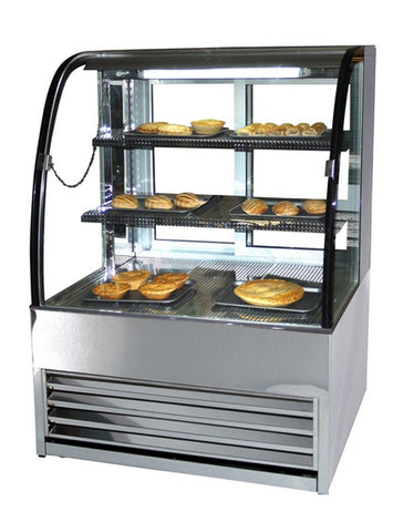 Frost-Tech HP75-100 1MTR Heated Pattisserie Display