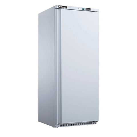 Blizzard HW600 600L White Solid Door Upright Refrigerator