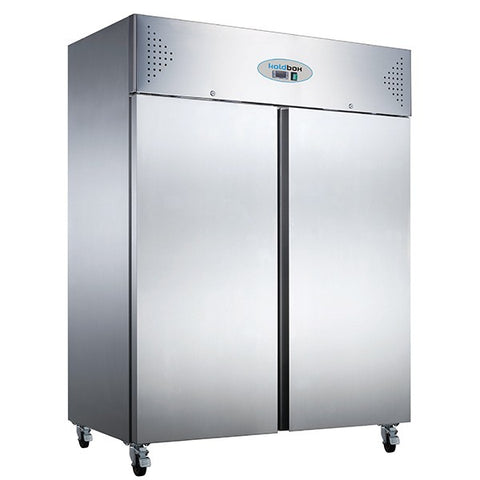 Koldbox KXF1200 1200 Ltr Upright Double Door Gastronorm Upright Freezer