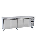 Blizzard LBC4SL 4 Door Slim-line Counter Freezer