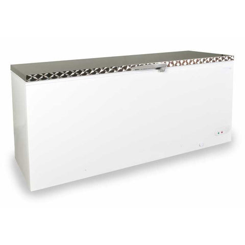 Capital MIDAS-650SS Solid Lid Chest Freezer