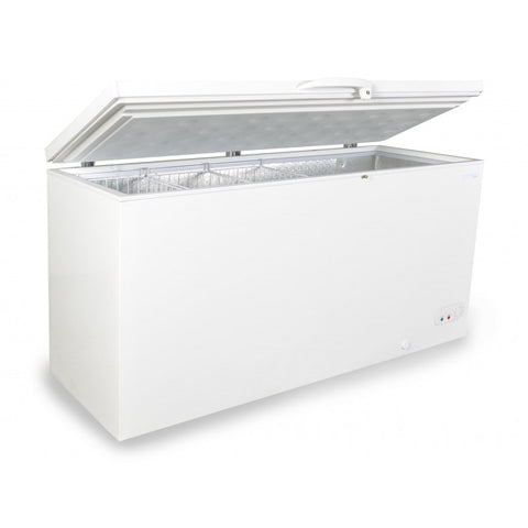 Capital MIDAS-550 White Solid Lid Chest Freezer