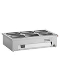 Inomak MAV614 4 x 1/1 GN Counter Top Bain Marie