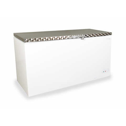 Capital MIDAS-550SS Solid Lid Chest Freezer