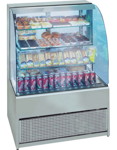 Frost-Tech P75-100 1MTR Refrigerated Patisserie Display