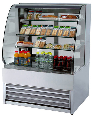 Frost-Tech P75-60 0.6MTR Refrigerated Patisserie Display