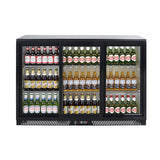 Zero Primo-3SL Sliding Triple Door Bottle Cooler