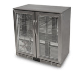 Zero PRIMO 2-SS Hinged Double Door Bottle Cooler