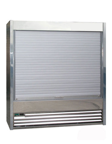 Frost-Tech SD75-130-SHU 1.3MTR Stainless Steel Shutter Multideck