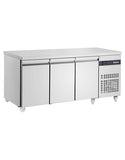 Inomak SL999-ECO 3 Door Slimline Counter Refrigerator