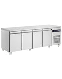 Inomak SL9999-ECO 4 Door Slimline Counter Refrigerator