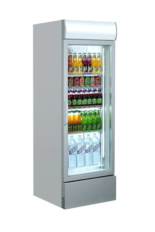 Sterling Pro SP375GL 340 Ltr Upright Glass Door Refrigerator