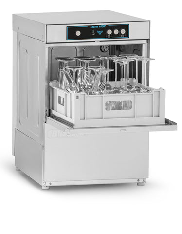 Blizzard STORM40DP Glass Washer With Drain Pump