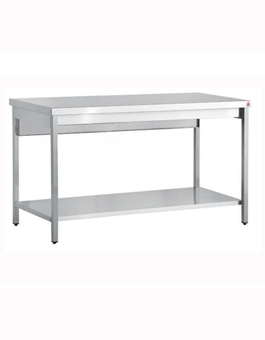 Inomak TL711 1100mm Stainless Centre Table