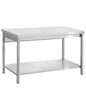 Inomak TL714 1400mm Stainless Centre Table