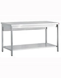Inomak TL716 1600mm Stainless Centre Table