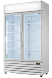 Prodis XD1201 1200Ltr Double Glass Door Refrigerator
