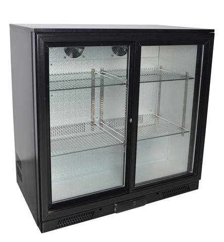 Zero Primo 2 Hinged Double Door Bottle Cooler