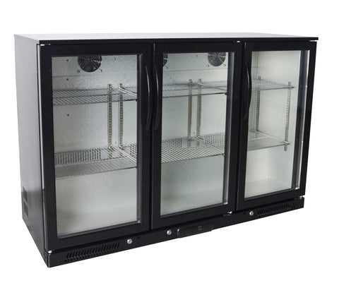 Zero Primo 3 Triple Hinged Door Bottle Cooler