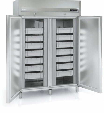 Coreco AP-1002 Double Door Upright Fish Keeper Fridge