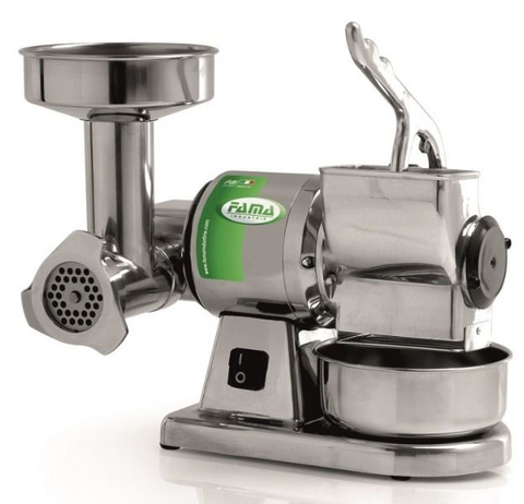 Fama FTGM126 / TG8 Light Duty and Parmesan Grater & Meat Mincer