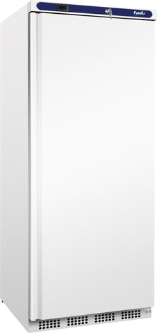 Prodis HC601R White Single Solid Door Upright Refrigerator