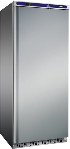 Prodis HC601RSS Stainless Single Solid Door Upright Refrigerator