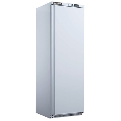 Blizzard LW400 320L White Single Door Upright Freezer