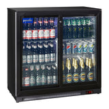 Prodis NT2BS-HC Double Sliding Door Bottle Cooler-GRADED
