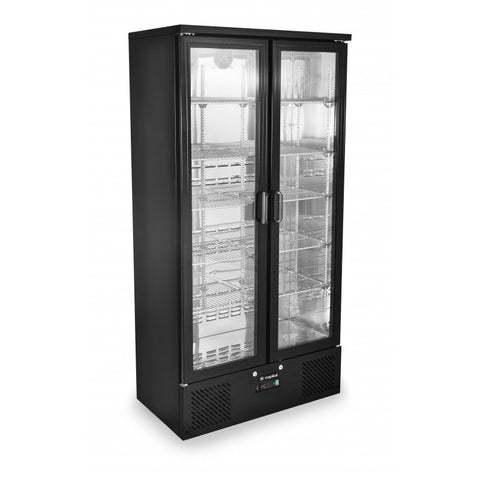 Zero Primo 500 Upright Double Door Bottle Cooler