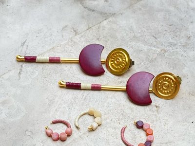 Helene Tagua Earrings
